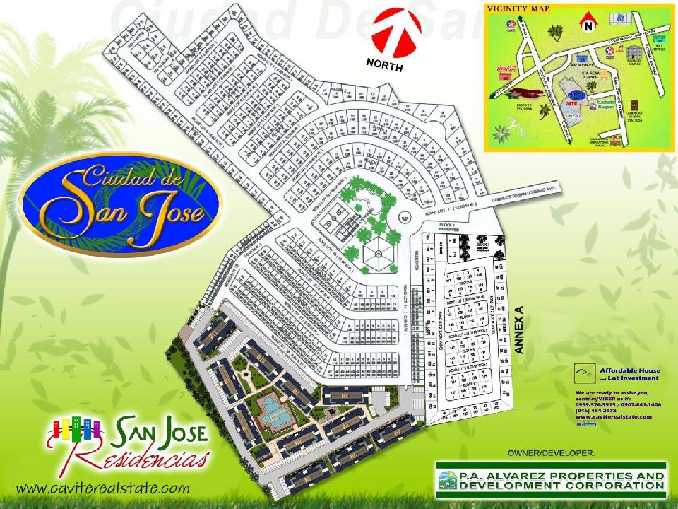 San Jose Development Map