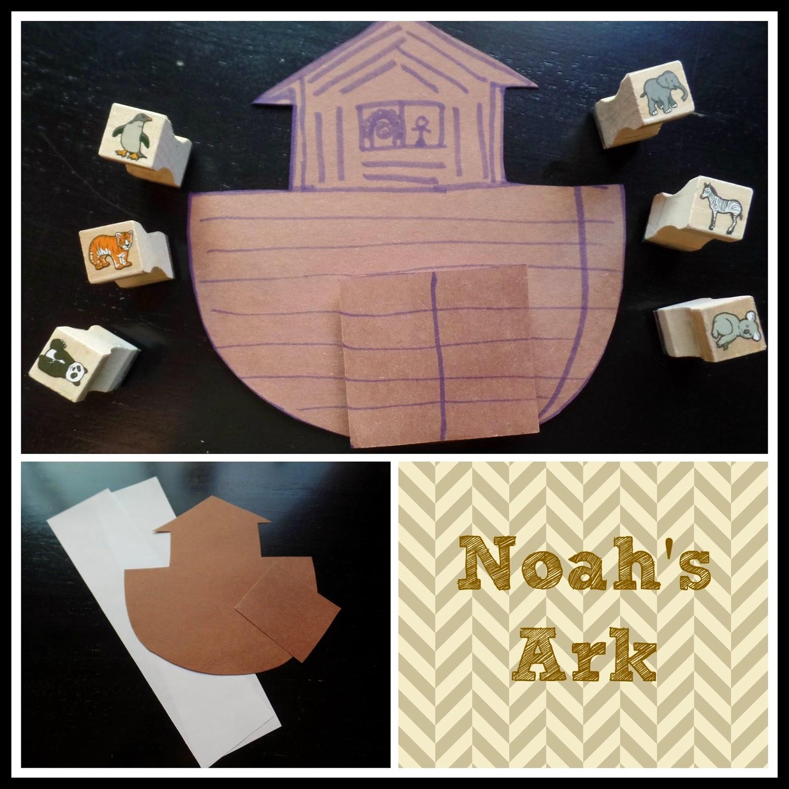 april u0027s homemaking simply sunday noah u0027s ark paper and