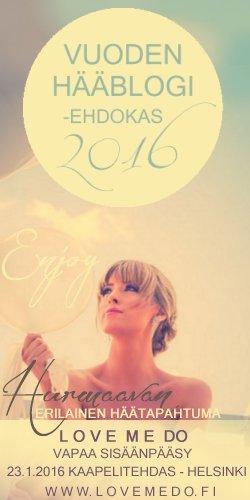 Vuoden hääblogi 2016 -ehdokas