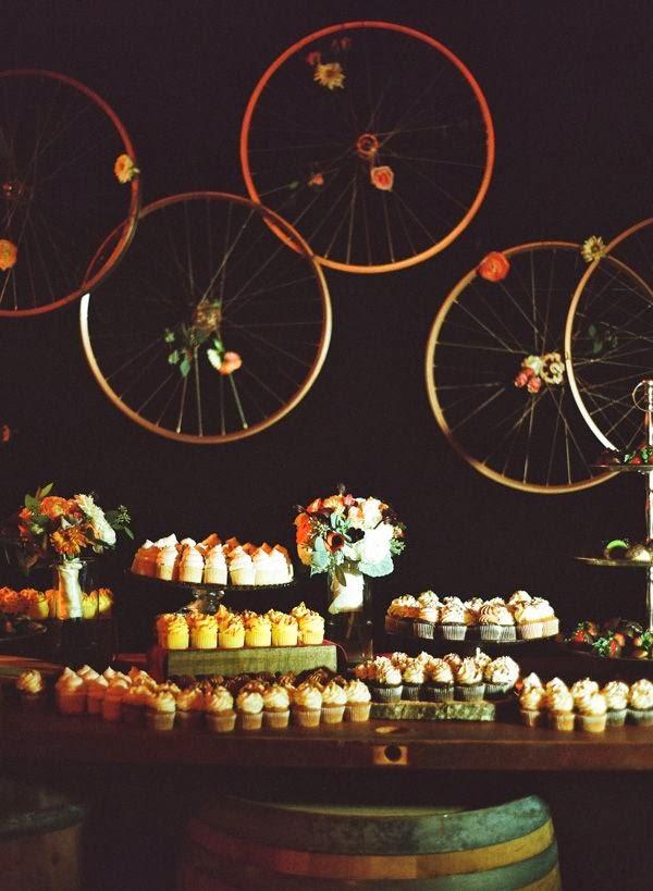 candy bar con bicis