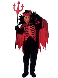 Halloween Kostume Djævle Dreng