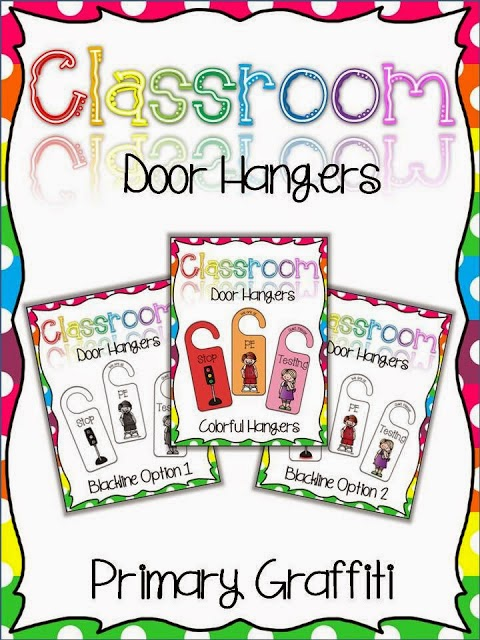 http://www.teacherspayteachers.com/Product/Classroom-Door-Hangers-789918