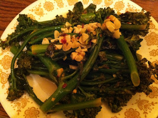 Spicy Lemon Garlic Broccolette