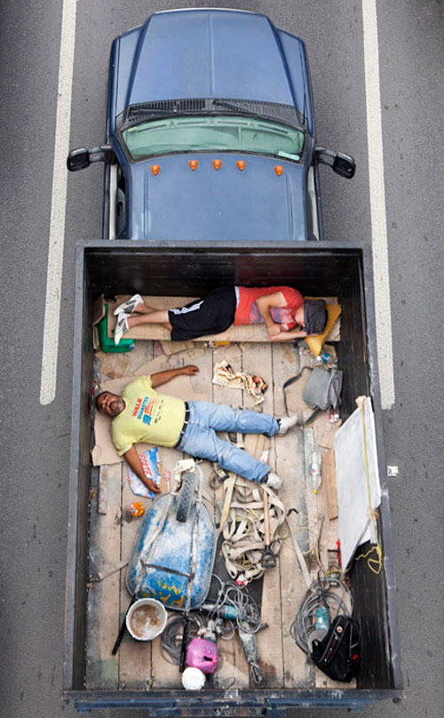 Carpoolers - Fotografia de Alejandro Cartagena