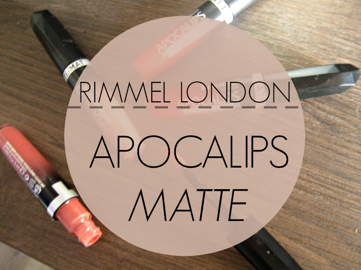 RIMMEL LONDON APOCALIPS MATTE SWATCH