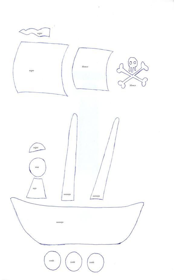 El taller de Naidú: Una camiseta pirata.