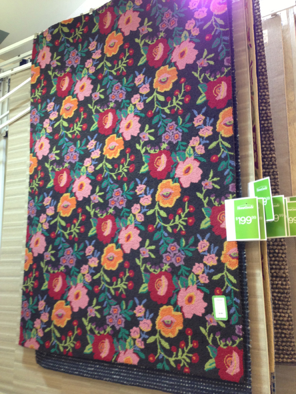 While Walking Through Home Goods Recently, I Noticed This Rug.