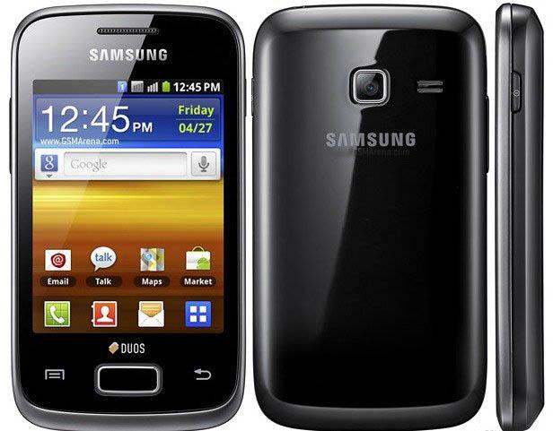 latest Dual Sim Touchscreen Mobile , Samsung Galaxy Y Duos. Samsung