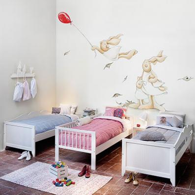 Muebles y decoraci n de interiores decoraci n de paredes - Decoracion interiores infantil ...