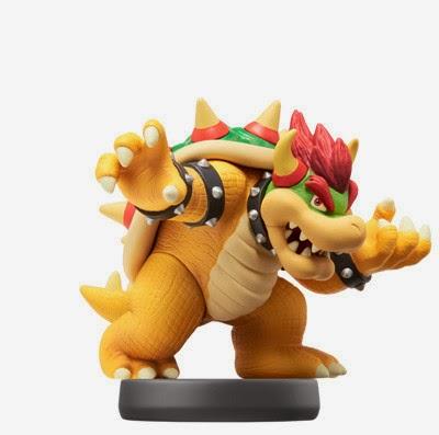 JUGUETES - NINTENDO Amiibo - 20 : Figura Bowser   (23 enero 2015) | Videojuegos | Muñeco | Super Smash Bros Collection  Plataforma: Wii U & Nintendo 3DS