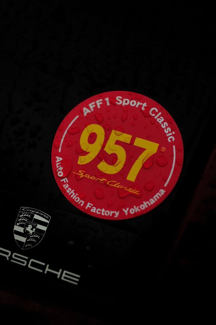 957スポクラデカールのご案内です。