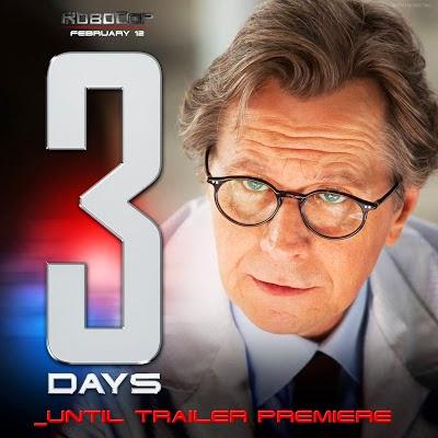 3 dias para el nuevo trailer del remake de Robocop