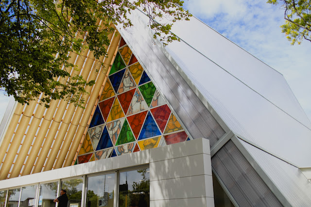 cardboard cathedral front