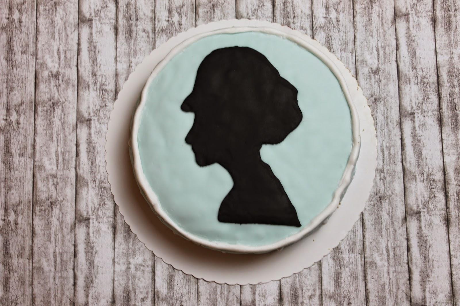 Audrey Hepburn Cake Tiffany's Party
