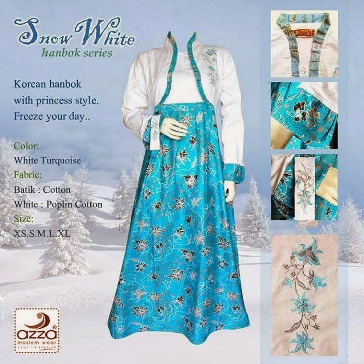 Gamis Hanbok Snow White
