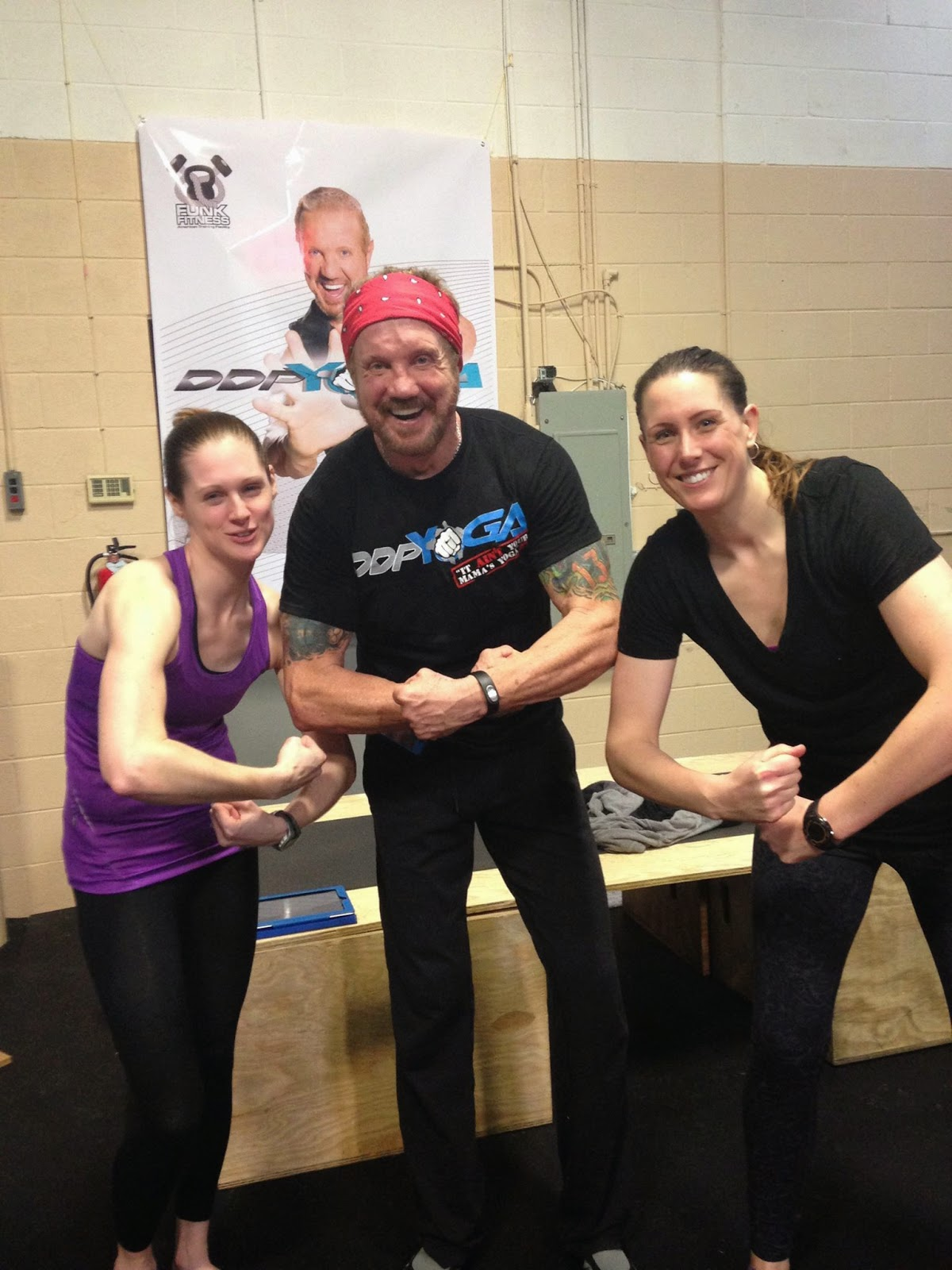 Dallas Page and DDPYoga