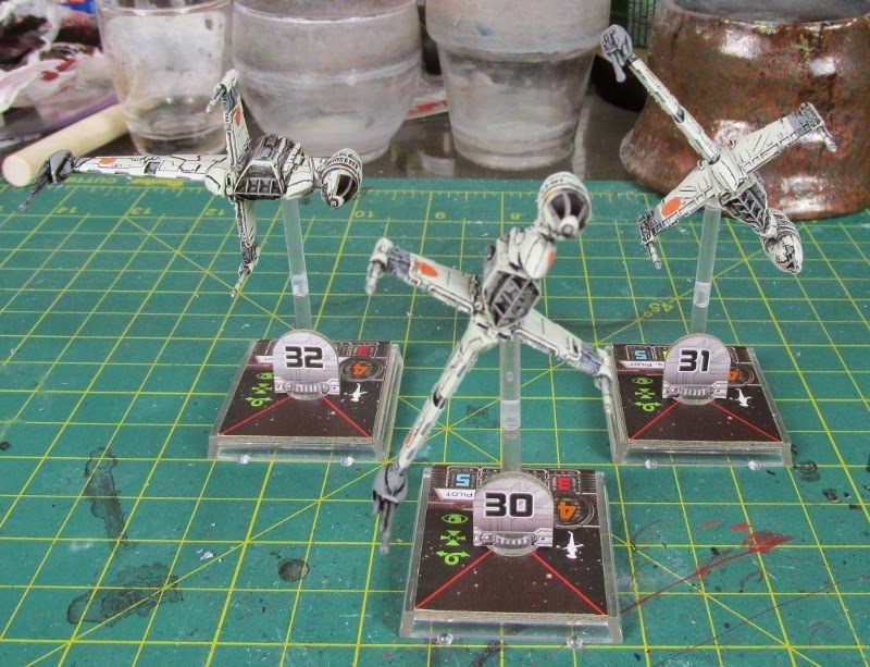 How to Lose at 40k*'**/WIP'R'Us: Rotating the B-wing, a How to