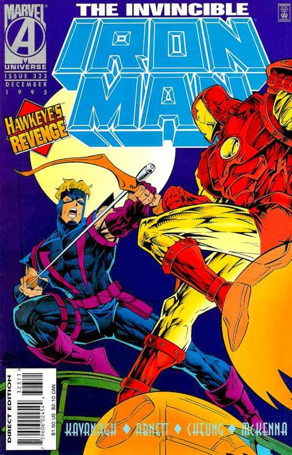 Iron Man 323 Cover