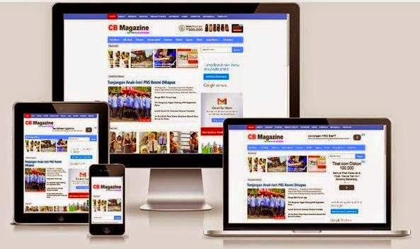 New Thesis SEO V3 Blogger Responsive Template
