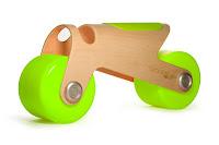 moto infantil en fusta BIT