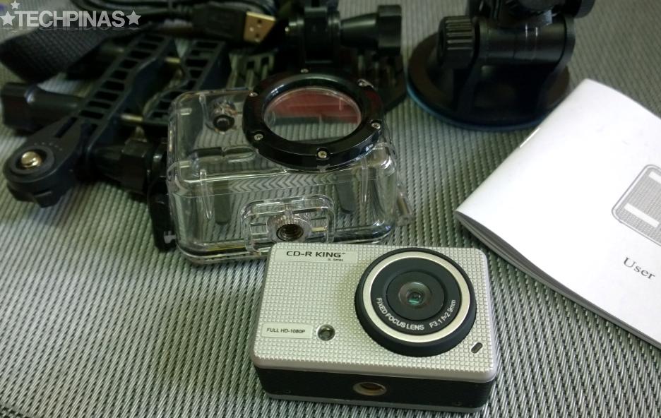 CDRKing Action Camcorder, CD-R King, Affordable Go Pro Alternative