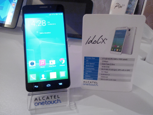 Alcatel One Touch Idol X+ Octa-core Launched, Sells for P14,999