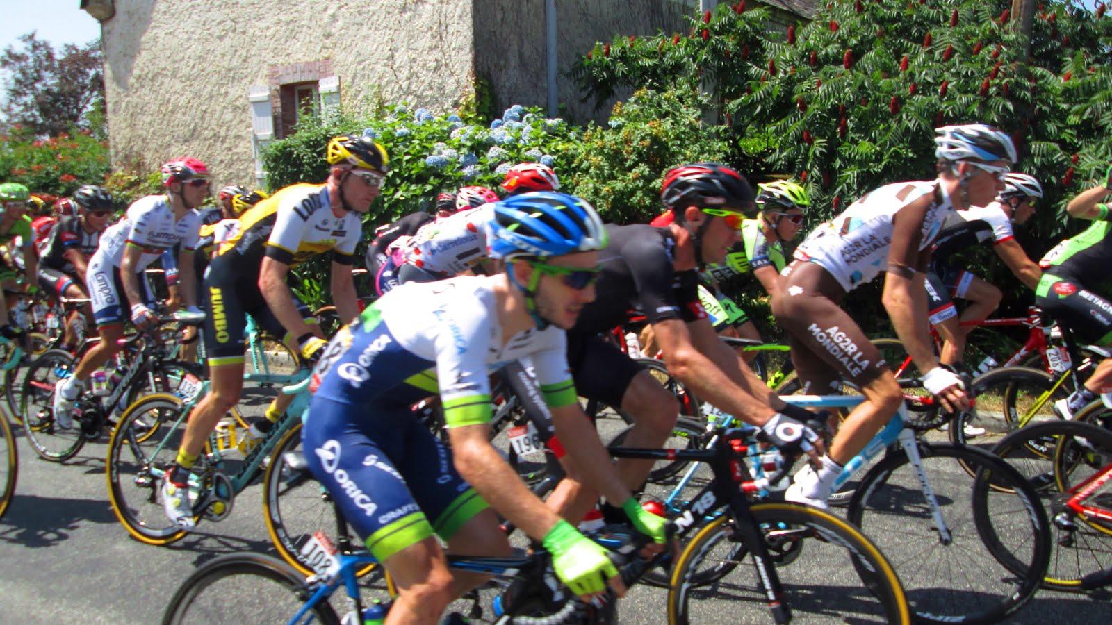 10° ETAPE DU TOUR DE FRANCE : TARBES/LA PIERRE-SAINT-MARTIN
