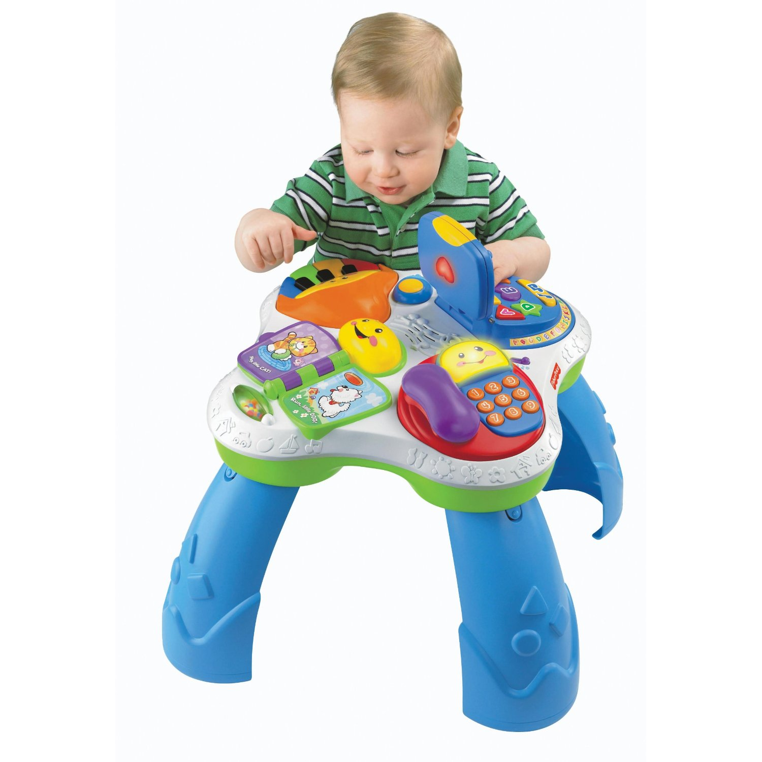 Extreme couponing mommy fisher price laugh learn with friends musical table at target - Table activite fisher price ...
