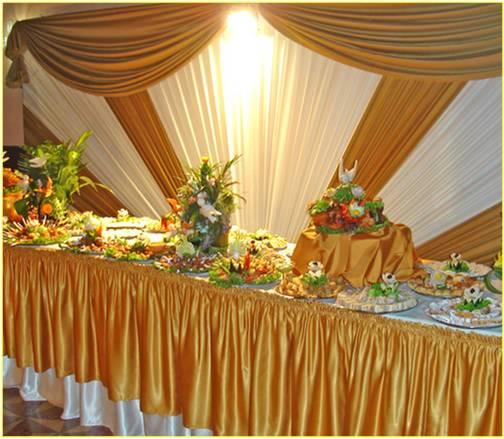 Tallados de frutas y verduras - Decoracion buffet ...