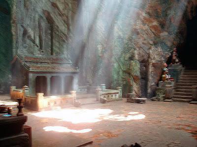 Huyen Khong caverna em Danang