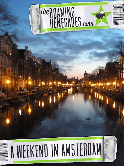 A quick guide to AMSTERDAM. An amazing weekend in Holland! http://www.theroamingrenegades.com/2015/11/a-quick-guide-to-amsterdam.html