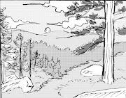 Este paisaje es aburrido porque solamente son lineas tutorial