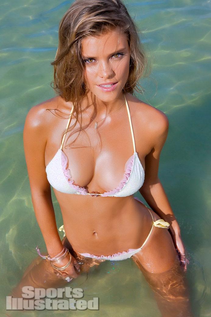 Nina Agdal Sports Illustrated Body Paint