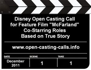 Disney McFarland Open Casting Call