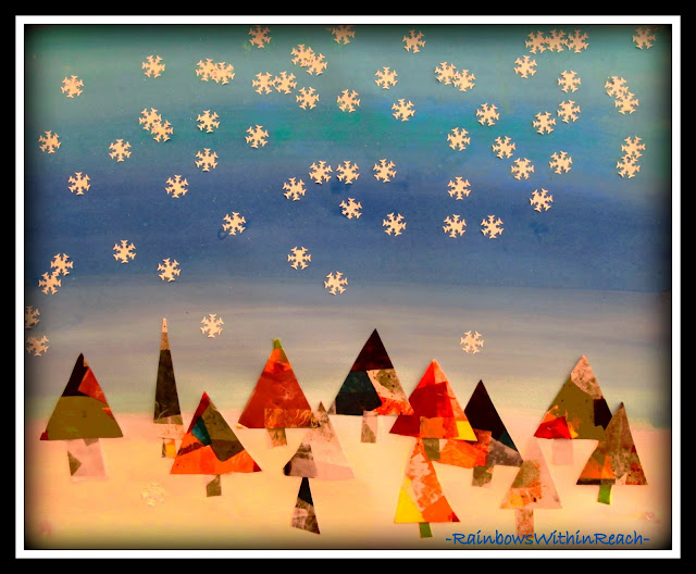 photo of: Winter Quilt Collaboration via RainbowsWithinReach Quilt RoundUP