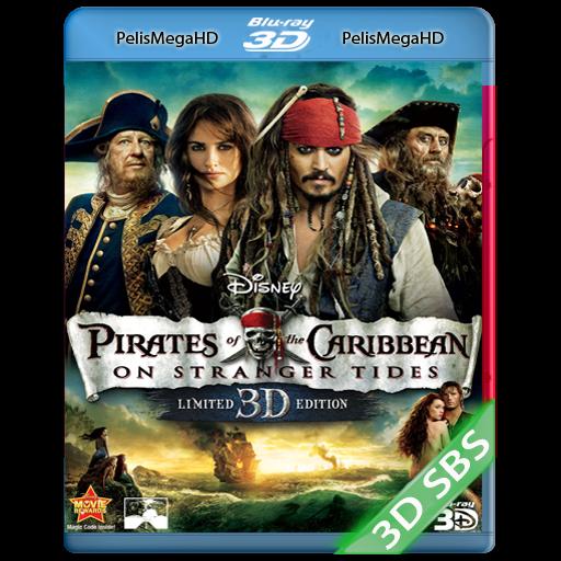 Piratas del Caribe 4: Navegando Aguas Misteriosas (2011) 3D SBS 1080P HD MKV ESPAÑOL LATINO