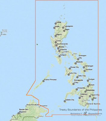 Treaty Boundaries of the Philippines - Schadow1 Expeditions