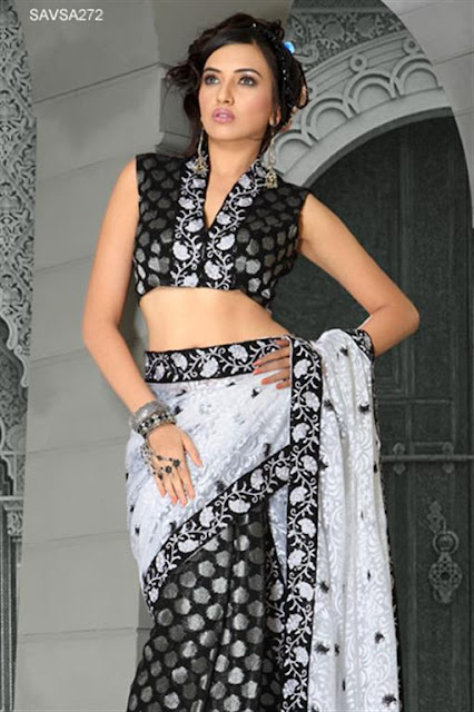 Indian Chiffon Saree