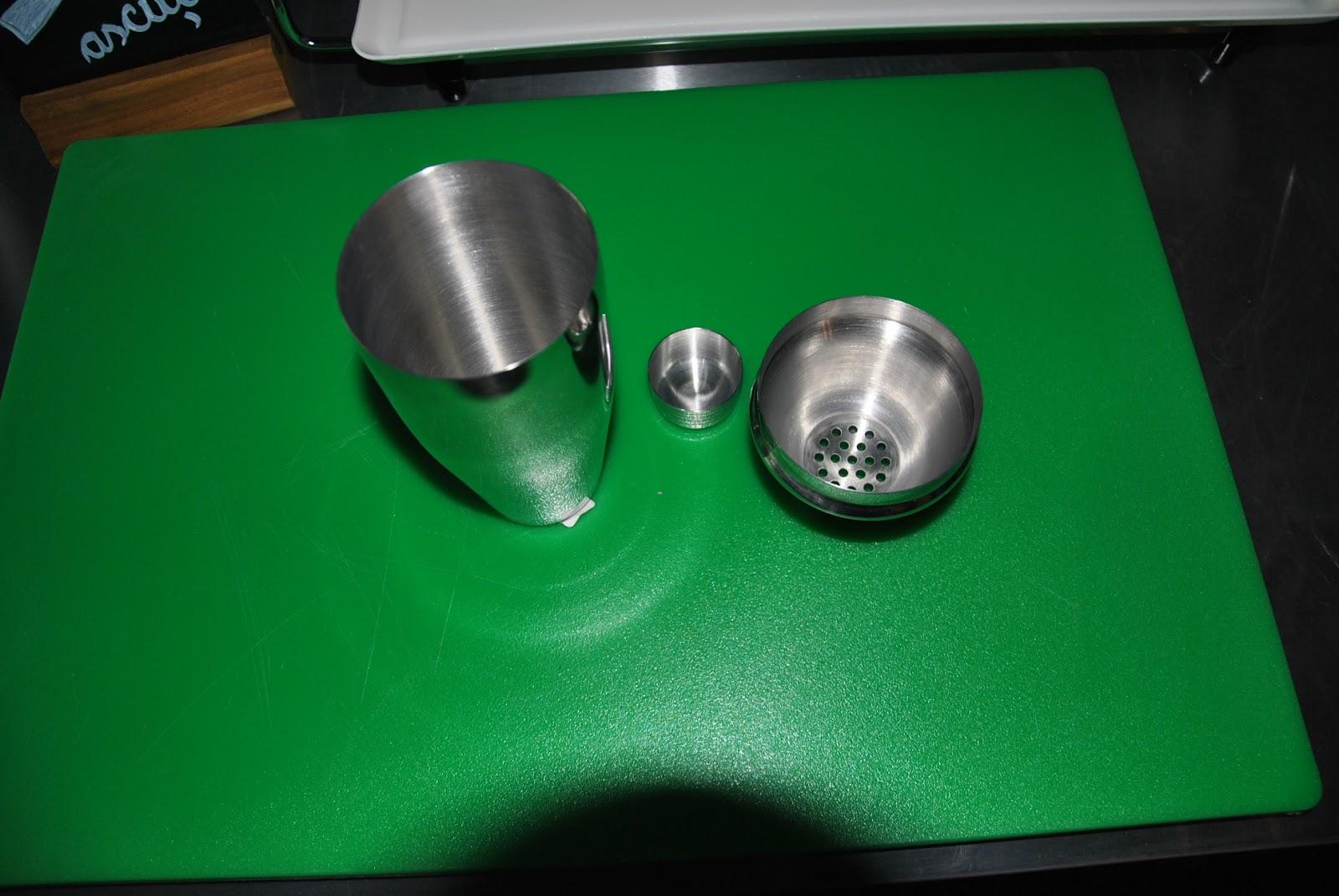Shaker pentru cocktail, realizat din otel inoxidabil, 3 bucati Ø 80x(H)240 mm 0.75 Lit