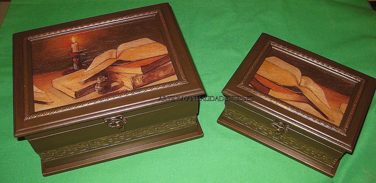Cajas Madera Antiguas Coleccin De Cajas De Madera Antiguas With  ~ Cajas De Madera Con Tapa De Cristal