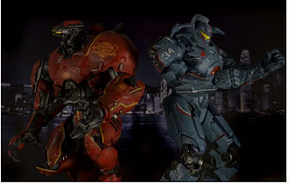 pacific rim crimson typhoon toy  Gipsy Danger, Crimson Typhoon,