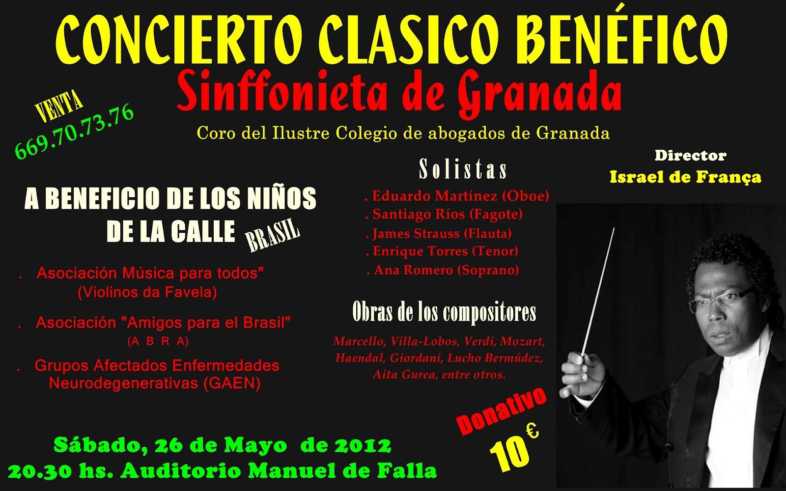 Pastoral familiar archidiocesis de granada concierto for Concierto hoy en santiago