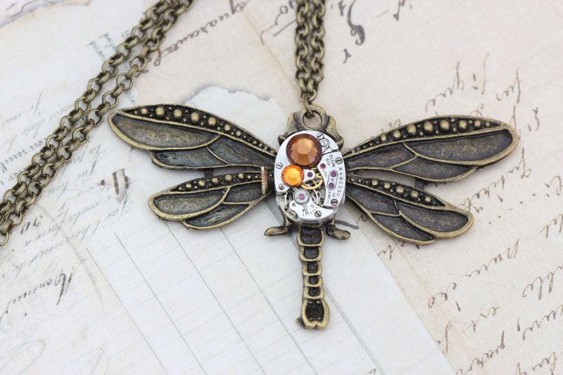 Pretty Dragonfly Pendant