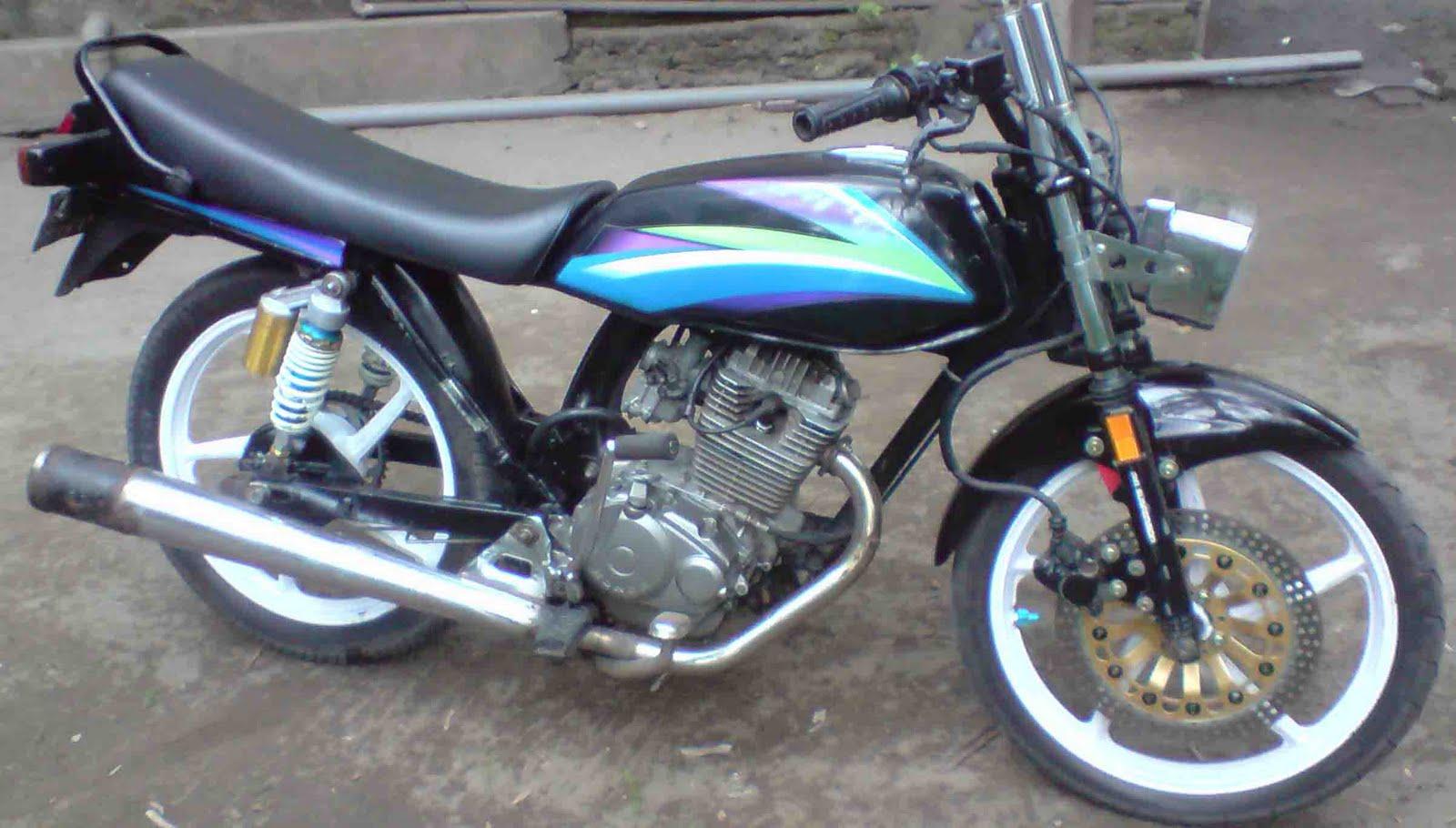 Modifikasi Motor Jupiter Mx Tahun 2007