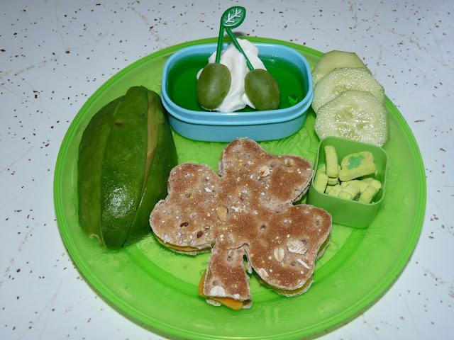 Patrick's day shamrock lunch