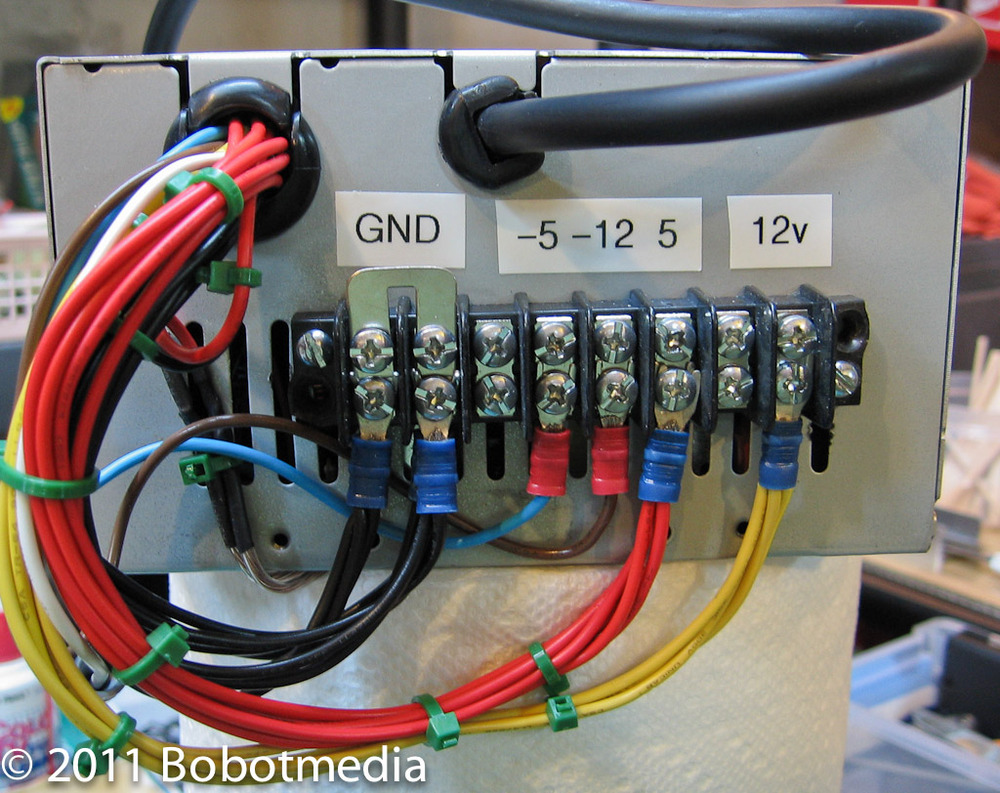 Bobot\'s Trains: Computer power supply for layout building lights