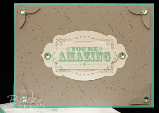 Your Amazing Incentive Trip Card by UK Based Stampin' Up! Demonstrator Bekka Prideaux