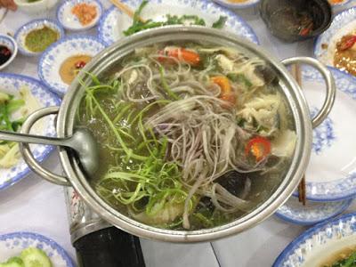 ナマズスープ麺