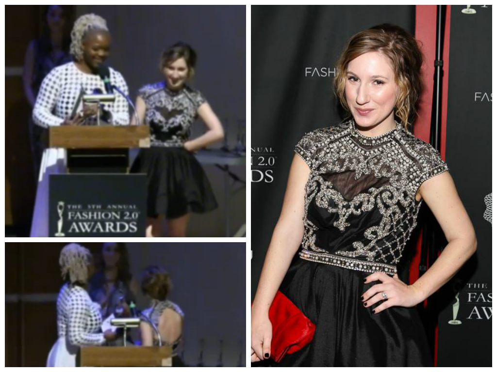 megan zietz fashion 2.0 awards