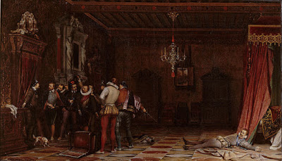 « Paul Delaroche - L'assassinat du duc de Guise au château de Blois en 1588 - Google Art Project » par Paul Delaroche — QwEWyP4MDPMMiw at Google Cultural Institute, zoom level maximum. Sous licence Domaine public via Wikimedia Commons - https://commons.wikimedia.org/wiki/File:Paul_Delaroche_-_L%E2%80%99assassinat_du_duc_de_Guise_au_ch%C3%A2teau_de_Blois_en_1588_-_Google_Art_Project.jpg#/media/File:Paul_Delaroche_-_L%E2%80%99assassinat_du_duc_de_Guise_au_ch%C3%A2teau_de_Blois_en_1588_-_Google_Art_Project.jpg